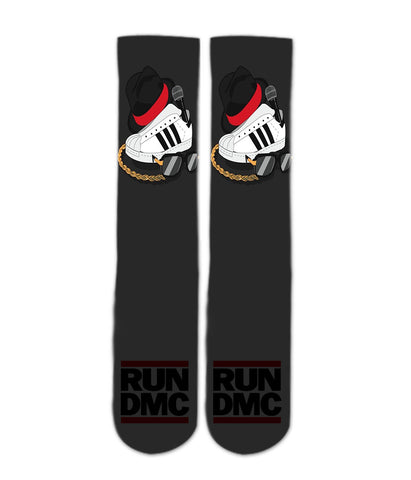 a352e81befe Hip Hop Classic Run DMC socks - Awesome elite socks for guys girls adults  and kids
