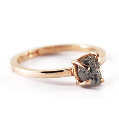 14k rose gold ring