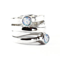 womens moonstone ring
