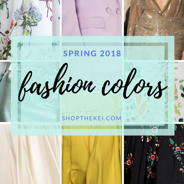 Top Color Trends for Spring