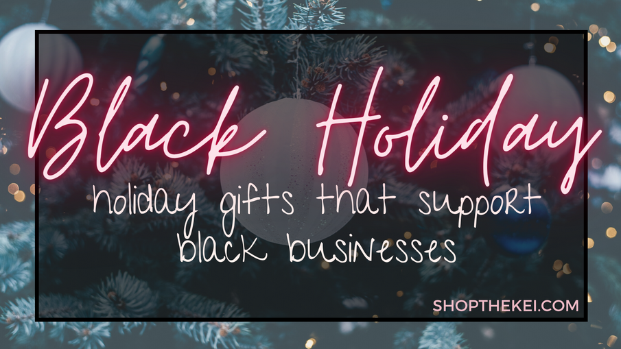 Buy Black Holiday Gift Guide