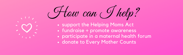 maternal health awareness day, ShoptheKei.com