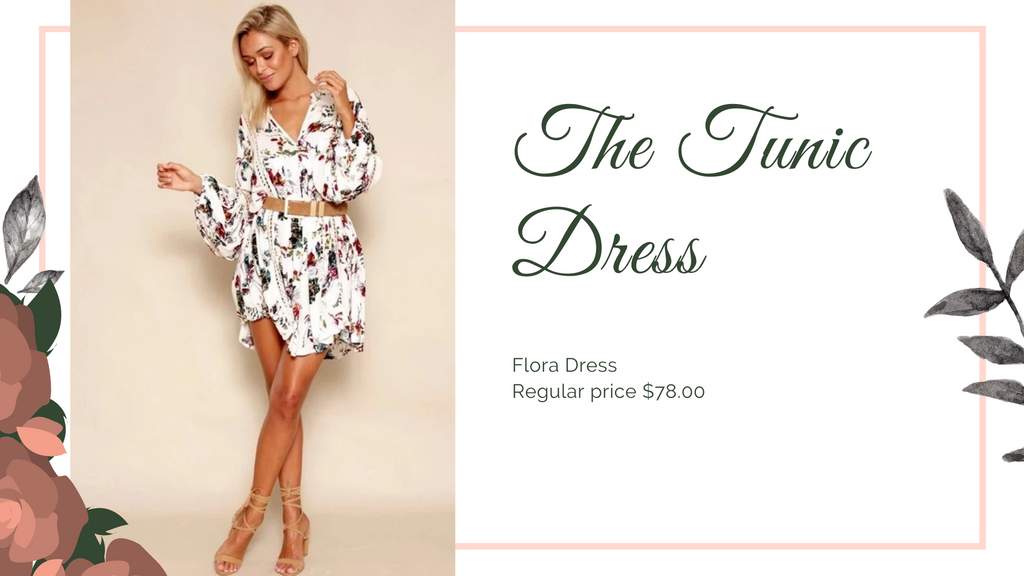 The 8 dresses every woman should have, Tunic dress, ShoptheKei.com