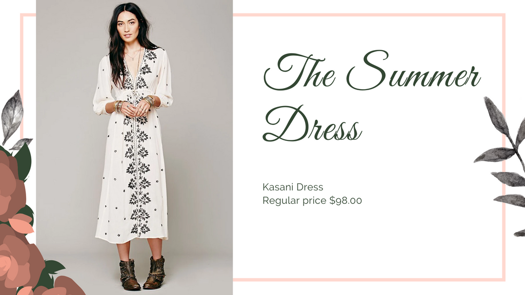 The 8 dresses every woman should have, Summer Dress, ShoptheKei.com