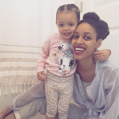 Kei and her daughter Nyaeli. Our Founder, About us, ShoptheKei.com