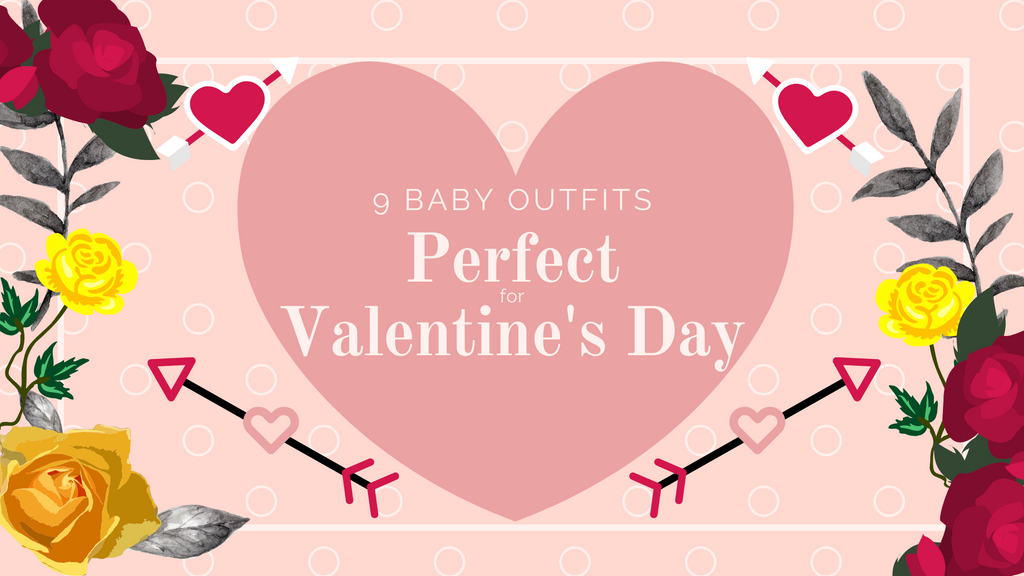 9 Baby Outfits Perfect for Valentine's Day, ShoptheKei.com