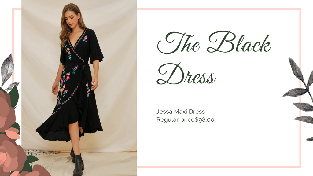 The 8 Dresses every woman should have, Black dress, ShoptheKei.com