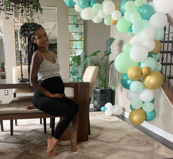 New baby on the way for a boho mama? I share my DIY projects and some beautiful moments from concept to inception of my sister Kaira's boho baby shower.