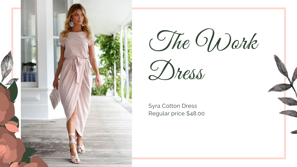 The 8 dresses every woman should have, Work Dress, ShoptheKei.com