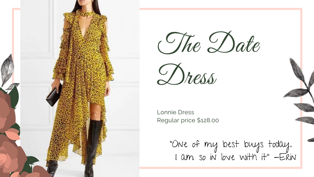 The 8 dresses every woman should have, Date dress, ShoptheKei.com