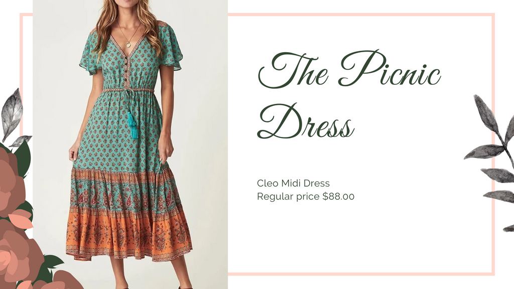 The 8 dresses every woman should have, picnic dress, ShoptheKei.com