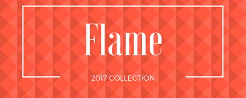 Spring fashion color Flame