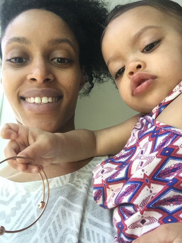 Nyaeli Kucera, mom and baby, vegas with a toddler, baby clothes, shopthekei.com