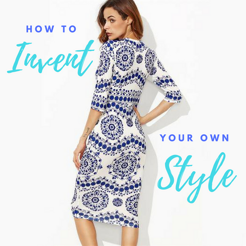 How to invent your own style