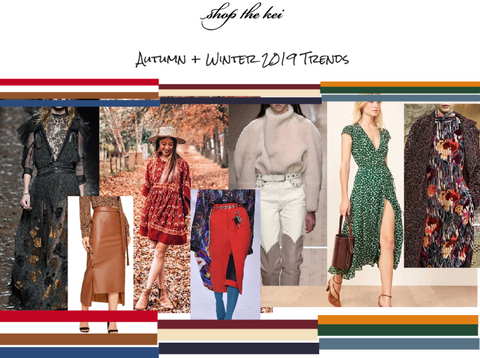 The hottest fashion trends for Fall 2019. Autumn Fashion Trends 2019, ShoptheKei.com