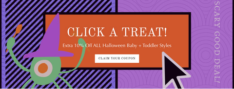 Click a Treat Coupon, Halloween Baby Sale, ShoptheKei.com