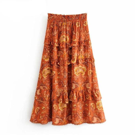 Yara Midi Skirt [TAGs]- ShoptheKei.com