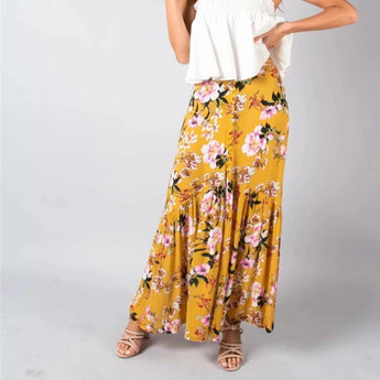 Flora Maxi Skirt [TAGs]- ShoptheKei.com