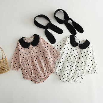 Dotty Baby Romper [TAGs]- ShoptheKei.com