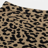 Leopard Midi Skirt [TAGs]- ShoptheKei.com