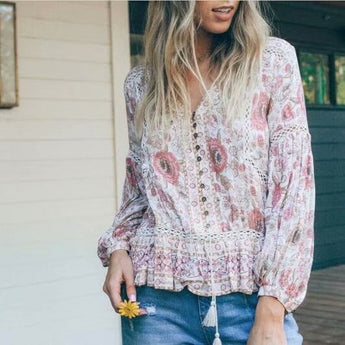 Dahlia Blouse [TAGs]- ShoptheKei.com