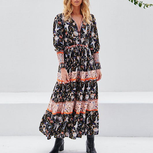 Coco Maxi Dress [TAGs]- ShoptheKei.com