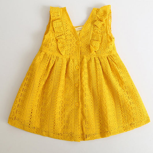 Does your little one like dressing up in the summer? She will love this flawless mesmerizing lace girls dress. ShoptheKei.com