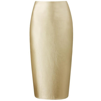 The office never looked good until you showed up wearing this leather pencil skirt with your favorite blouse. ShoptheKei.com