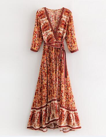 Stroll the sand walking hand in hand as a vision of splendor in your gorgeous, floral mixed Laurel Maxi Dress. ShoptheKei.com