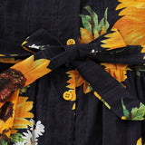 Girl Sunflower Dress [TAGs]- ShoptheKei.com