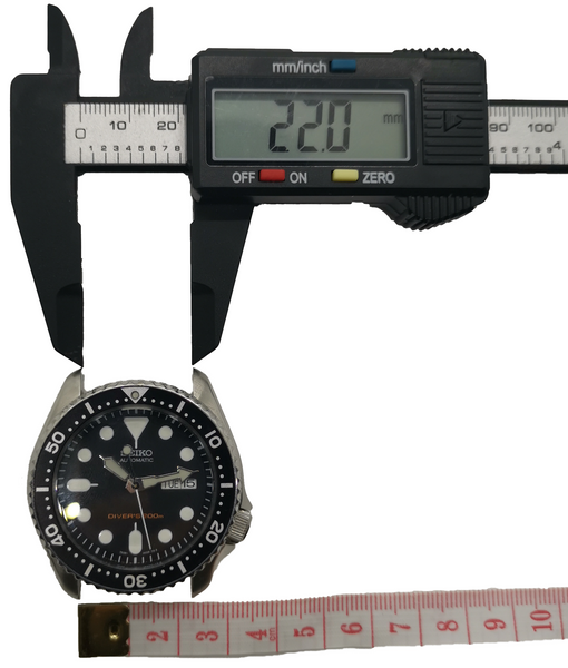 Find your watch strap size