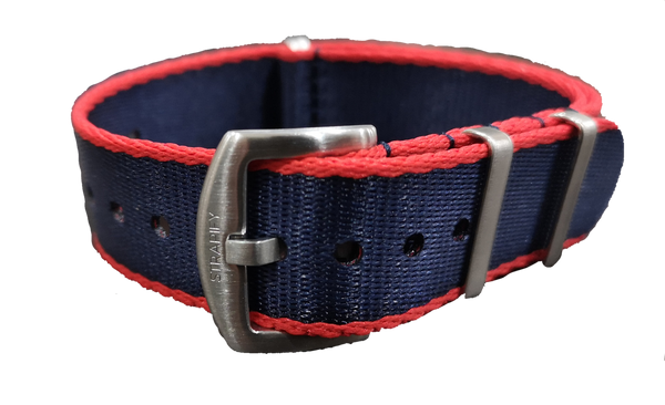 Supreme NATO - Navy Blue with Red Trim