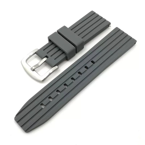 Quick Release Flexi Rubber Grey