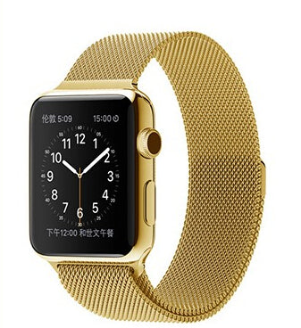Milanese Loop (Gold) - Apple Watch Strap