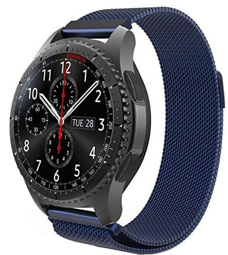 Quick Release Milanese (Navy Blue) - Strapify Australia
