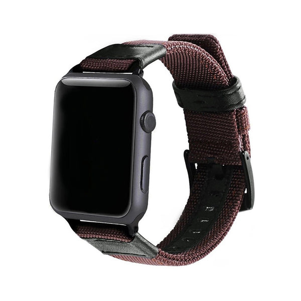 Apple Watch - Canvas - Coffee Brown