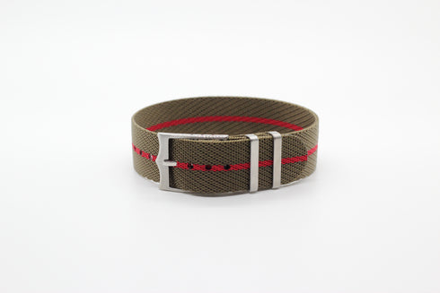 Cross NATO (Adjustable) - Olive Green / Red