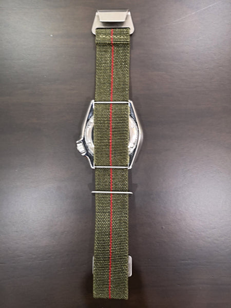 Marine Nationale - Army Green with Red Centreline
