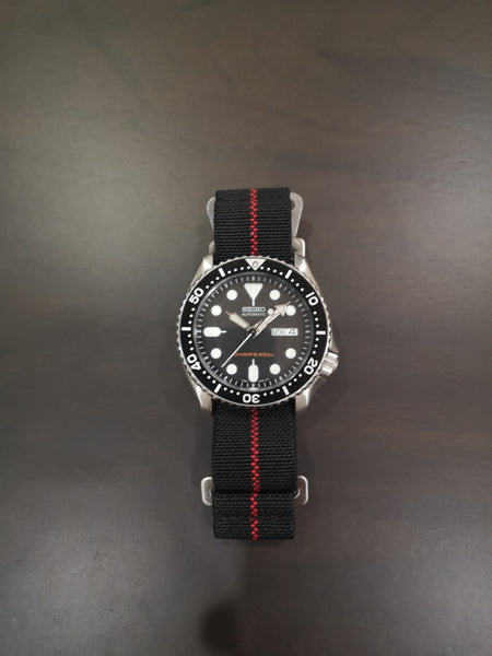 Marine Nationale - Black with Red Centreline