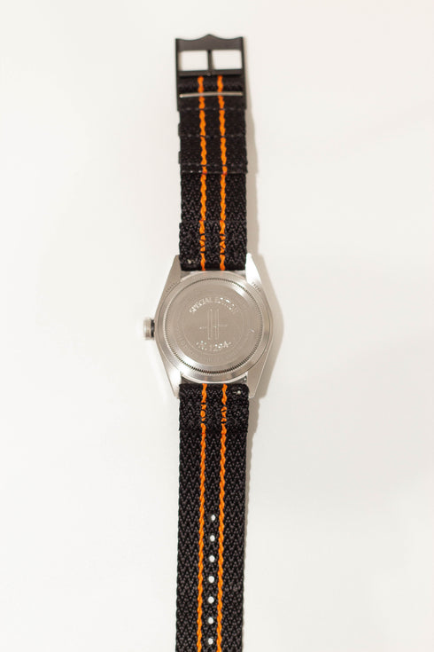 [Quick Release] Sharktooth NATO - Stealth Black/Orange [Black Hardware]