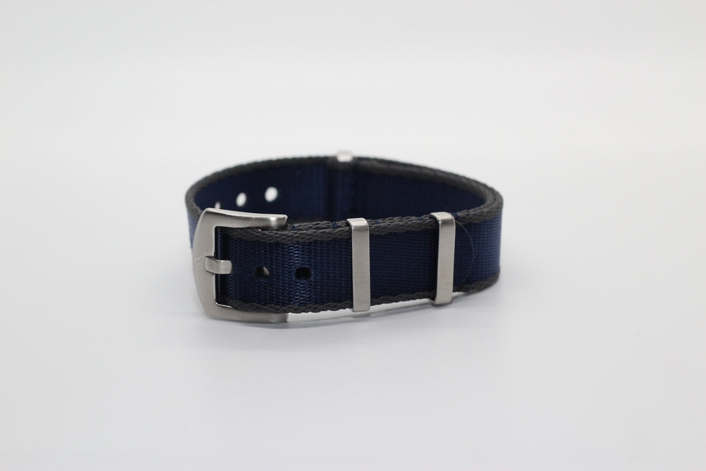 Supreme NATO - Navy Blue with Dark Grey Trim - Strapify Australia