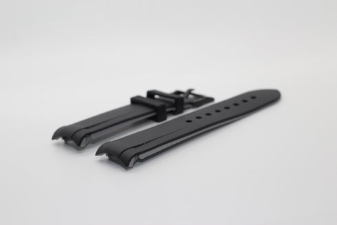 [Curved] King Flexi Rubber - Black | Grey Lining | Black Hardware