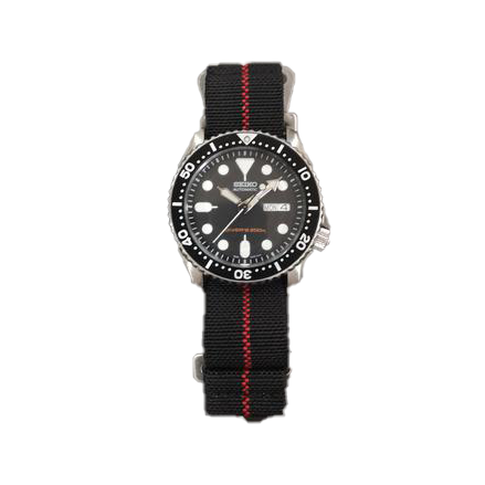 Marine Nationale - Black with Red Centreline - Strapify Australia