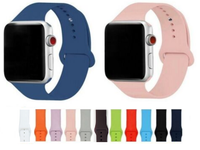 Silicone - Apple Watch Strap/Band