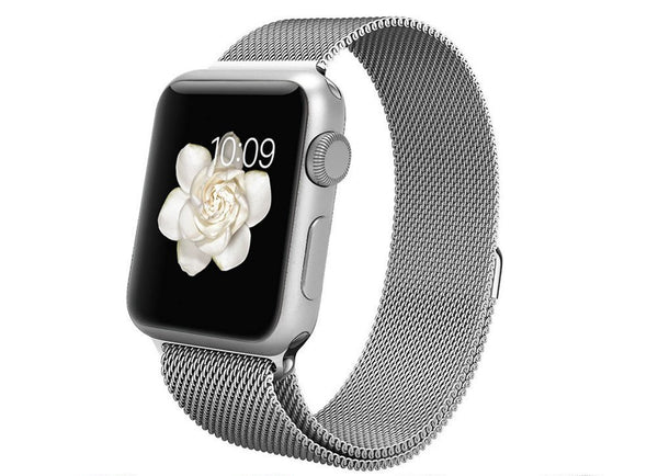Milanese Loop (Silver) - Apple Watch Strap
