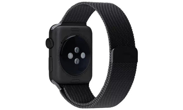 Milanese Loop (Space Black) - Apple Watch Strap