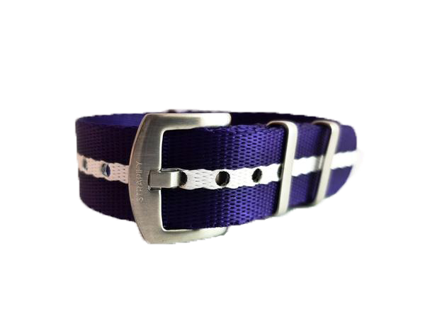 Supreme NATO - Blue/Purple with White Stripe - Strapify Australia