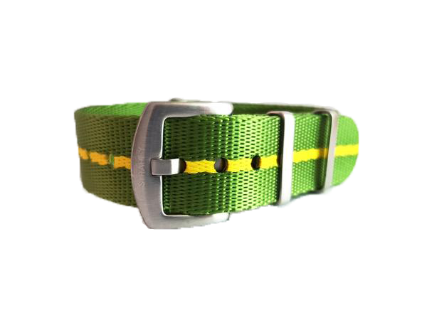 Supreme NATO - Green with Yellow Stripe - Strapify Australia