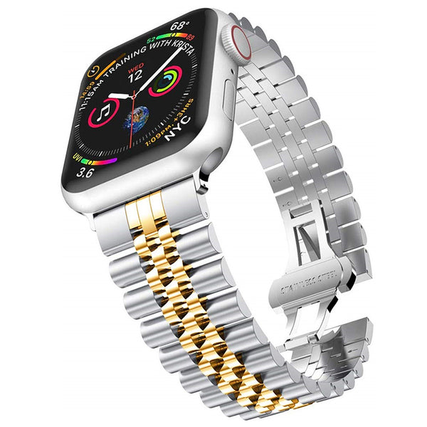[Apple Watch] Jubilee Bracelet - Silver/Gold