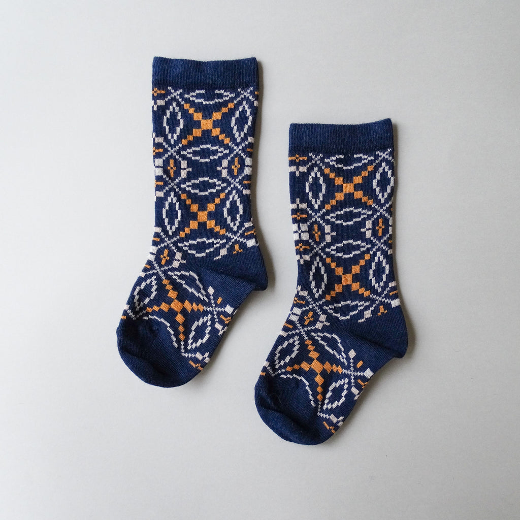 Knee High Socks - {Bronze + Indigo + Mineral Grey}